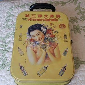31ab2597a5e7 Cute Asian inspired tin bag